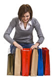 The joy of gifts Stock Image