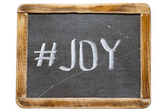 Joy hashtag fr Stock Images