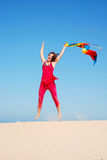 Joy jump Royalty Free Stock Images