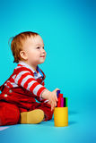 Joy kid Royalty Free Stock Photo