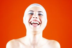 Joy of laughter. Royalty Free Stock Images