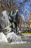 Joy of Life Fountain in London's Hyde Park Stock Image