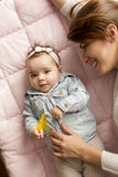 Joy of motherhood Royalty Free Stock Photography