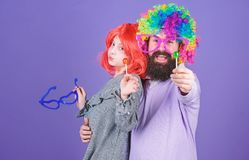 A joy that never ends. Birthday party. Father and girl child enjoying birthday celebration. Happy birthday. Father and royalty free stock photography