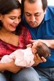 Joy of parenthood Stock Photography