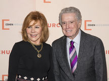 Joy Philbin and Regis Philbin Stock Photography