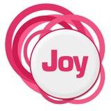 Joy Random Pink Rings stock illustrationer