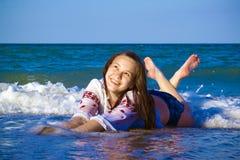 Joy Sea Royalty Free Stock Photography