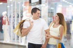 Joy of shopping Stock Photography