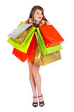 Joy of Spare Time - Shopping Stock Photography
