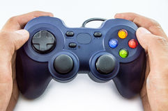Joy stick control Stock Images