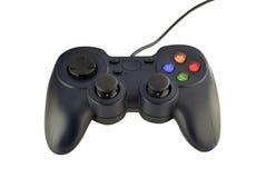 Joy stick gaming console on white background Stock Photo