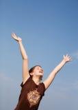Joy in the Sun Royalty Free Stock Photo