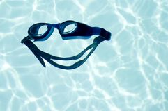 Joy of swimming - big smile Stock Images