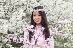 Joy Vietnamese girl Royalty Free Stock Image