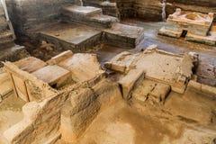 Joya DE Ceren archeologische plaats, Gr Salvad royalty-vrije stock foto