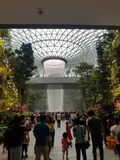 Joya de Changi del vórtice de la lluvia @ fotos de archivo