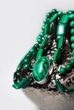 Joya verde Imagen de archivo libre de regalías