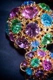 Joyas coloridas Fotografía de archivo libre de regalías
