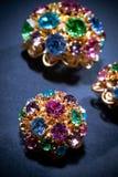 Joyas coloridas Imagen de archivo libre de regalías