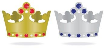 Joyas de corona Imagen de archivo libre de regalías