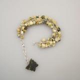 Joyas de plata con las piedras preciosas imagen de archivo libre de regalías