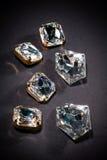 Joyas del diamante Fotografía de archivo