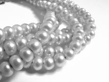 Joyas naturales - perla Fotografía de archivo