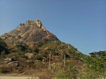 Joychondi-kleiner Hügel Stockfoto