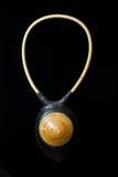 Joyería étnica de la joyería del collar de Brown Foto de archivo