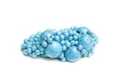 Joyería azul del lazurite | Aislado Imagen de archivo
