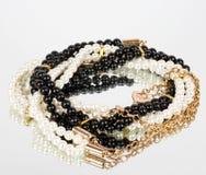 Joyería de la perla Fotografía de archivo libre de regalías