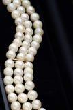 Joyería de la perla Imágenes de archivo libres de regalías