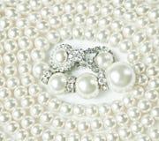 Joyería de la perla Imagen de archivo libre de regalías