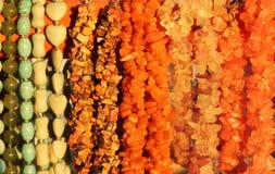 Joyería de piedras semipreciosas Imagen de archivo