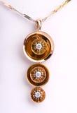 joyería del oro 18k fotos de archivo