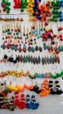 Joyería hecha a mano para la venta en una tienda en Nueva Deli, la India Imagenes de archivo