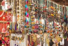 Joyería india tradicional colorida Fotos de archivo libres de regalías