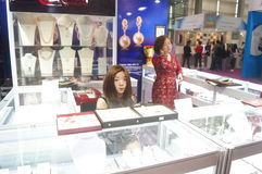Joyería internacional del oro de Shenzhen justa Imágenes de archivo libres de regalías