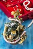 Joyería por la Navidad y el Año Nuevo Foto de archivo libre de regalías