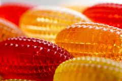 Joyería roja del amarillo del andl Foto de archivo libre de regalías