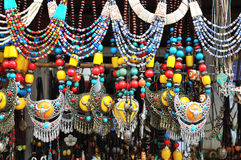 Joyería tibetana Foto de archivo libre de regalías