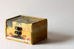 Joyero de madera Fotografía de archivo