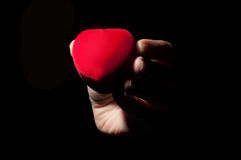 Joyero del corazón Foto de archivo