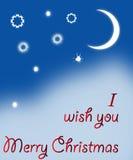 joyeuse carte postale de Noël Photos stock