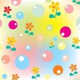 Joyeuse texture de pépinière illustration stock