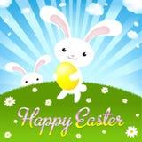 Joyeuses Pâques Photos stock
