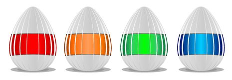 Joyeuses Pâques 2 image libre de droits