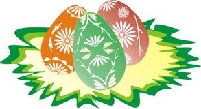 Joyeuses Pâques 3 Illustration de Vecteur