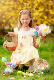 Joyeuses Pâques ! Photo libre de droits